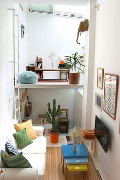 Cool open plan living. #interior