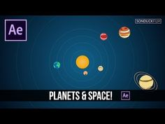 After Effects Tutorial: 2D Planets & Solar System Motion Graphics - YouTube