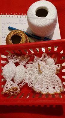 Christmas Crafts, Crochet Christmas, Crochet Earrings, Beautiful, Blog, Den, Angeles, Amigurumi, Angels