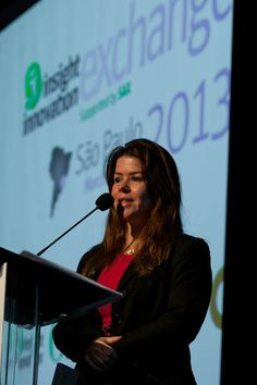 Adriana Rocha, CEO & Co-Founder of eCGlobal Solutions, as one of the Chairs of  IIeX LATAM 2013