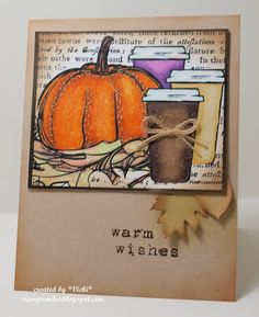 Stamp Smiles: CAS coffee for Cute Card Thursday                                                                                                                                                                                 More