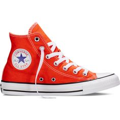 Converse Chuck Taylor All Star Fresh Colors – my van is on fire... (78 AUD) ❤ liked on Polyvore featuring shoes, sneakers, my van is on fire, star sneakers, high top sneakers, converse trainers, rubber sole shoes and converse high tops