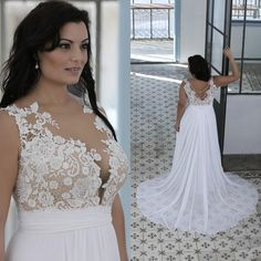 I found some amazing stuff, open it to learn more! Don't wait:https://m.dhgate.com/product/plus-size-beach-wedding-dresses-a-line-sheer/389111510.html