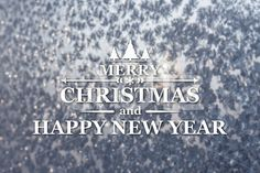 Qdiz Stock Photos Merry Christmas and New Year greeting card,  #background #blur #blurred #card #celebration #Christmas #eve #frozen #gray #greeting #holiday #Merry #new #postcard #retro #season #silver #snowflake #traditional #vintage #winter #xmas #year
