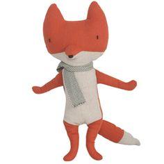 An elegant jazz hands little fox girl by one of my favorite toy brands...Maileg #Fox
