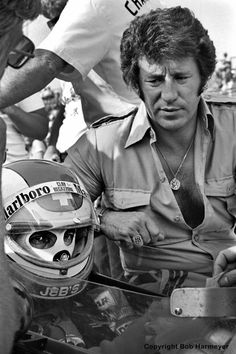 Clay Regazzoni & Mario Andretti