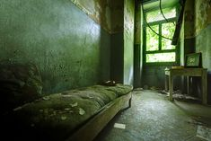 Eerie Photos of Italy's Abandoned Mental Asylums