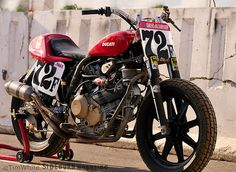 Ducati GT1000-based flat tracker. The moto equivalent of that hot high maintenance girl that you know is nothing but trouble, but is totally worth it.