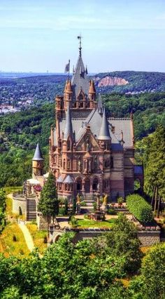 Schloss Drachenburg in Königswinter on the Rhine River near the city of Bonn. Germany • photo: HarryBo73 on Flickr by Denis2012blr