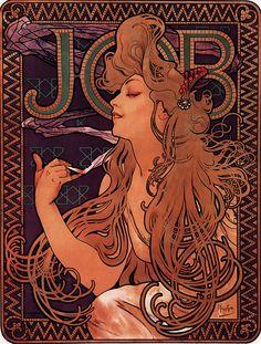 Alphonse Mucha - Job - 1896