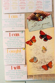"""""""I am, I can, I ought, I will"""" - Charlotte Mason"""