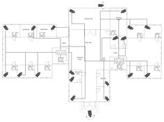 Security System Plan  Building Plans  Security And Access Plans