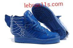 online store 1a512 a950d Sale Discount Adidas Jeremy Scott Wings Womens Royal Blue For Sale