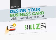 When creating a business card, keep in mind that it will be a memento in someone's wallet or purse to remind them of your meeting.  Digital Marketing is not anymorelike traditional Marketing, now Marketers need a proof of their investment.   #BusinessCard #BusinessPsychology #Design