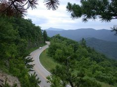 Virginia is for Lovers.  Skyline Drive - Shenandoah National Park