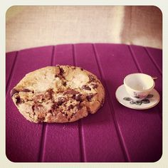 Little mug, big cookie.