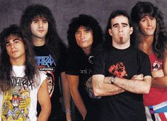 Anthrax I wish I lived in the 80's so I could see them!! Get at me Scott Ian