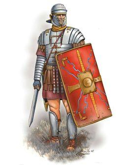 Римский легионер. Начало II века н.э.