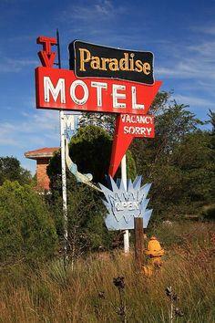Paradise Motel Tucumcari, New Mexico