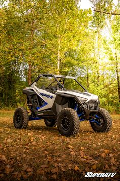 With SuperATV, you'll be taking the power of pro to the next level. The Polaris RZR PRO XP looks sharper than ever with our lift kit and Warrior tires, among other additions. Polaris Utv, Lift Kits, Can Am, Atv, Biking, Offroad, Yamaha, Planes, Jeep