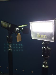 Two of our newest on-camera LED lights, the Micro Spot and the Micro Flood. http://ikancorp.com/productsearch.php?k=iled-m