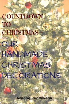 Our Handmade Christmas Decoration