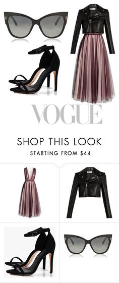 """Untitled #7"" by princess-george ❤ liked on Polyvore featuring H&M, Yves Saint Laurent, Boohoo and Tom Ford"