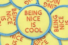 Seems simple, right? But you know those people who just need a reminder. 2.5x2.5 inch patch!