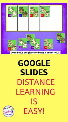 Use this Google Classroom math activity to make distance learning fun. Order numbers and learn to skip count by 2's, 5's,