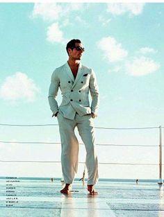 David Gandy X Vogue Hommes International Primavera 2011