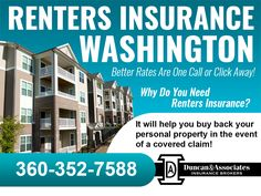 Did you know that if you combine a renters policy with your car insurance you may save enough money to pay for the renters policy?   Call our agency to learn more details or visit our website:http://www.duncanins.com/