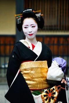 Geiko Kosen, Gion Kobu Geisha in Gion, Kyoto (byandrewtansj)