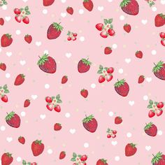 free kitschy strawberry collage digital scrapbook papers