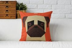 Pug Dog Cushions