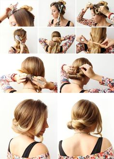 How-To Hair: The Wrap and Roll