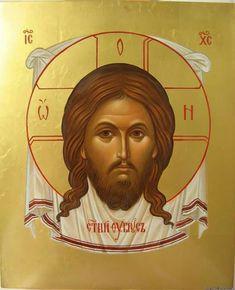 icon of holy napkin Thessaloniki, Catholic Memes, Christian Images, Byzantine Icons, Holy Mary, Orthodox Christianity, Georgia, Orthodox Icons, Christen