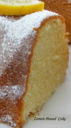A luscious, bright yellow cake that has a wonderful lemon flavor that comes from adding both lemon zest and lemon juice. Great for afternoon tea or lunch box treats! It stays moist for days.  If you are a citrus lover, you will love this one.