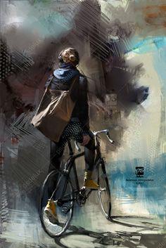 #waiting, psdelux ... on ArtStation at https://www.artstation.com/artwork/n8rDO
