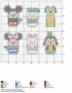 Plastic Canvas Ornaments, Plastic Canvas Christmas, Plastic Canvas Crafts, Plastic Canvas Patterns, Cross Stitching, Cross Stitch Embroidery, Cross Stitch Patterns, Chibi, Totoro