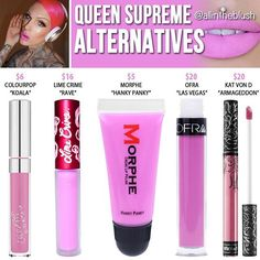 Queen Supreme Dupes