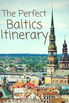 Baltics Travel | Lithuania Travel | Latvia Travel | Estonia Travel | Lithuania Itinerary | Latvia Itinerary | Estonia Itinerary | Eastern Europe Travel Itinerary| The Baltic States | Baltics Itinerary