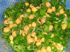 Cozinha Turca: Salada de Grão-de-Bico (Nohut Salatası)