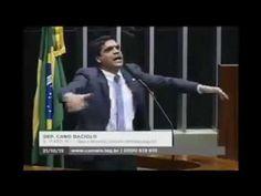 Deputado Cabo Daciolo profetiza a queda de Eduardo Cunha