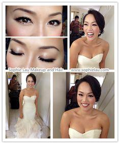Asian bridal makeup, Asian wedding makeup, bridal hair style