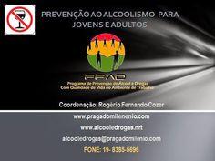 Palestra em Power Point para Prevenção ao Alcoolismo para Jovens e Adultos.