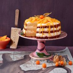 Drip Cakes, Sweet Recipes, Cake Recipes, Mango Cake, Cupcakes, Latin Food, Cakes And More, Food And Drink, Sweets