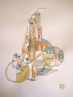 Personal Work by Riccardo Guasco, via Behance