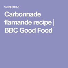 Carbonnade flamande recipe | BBC Good Food