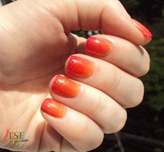 tutorial ombre nail