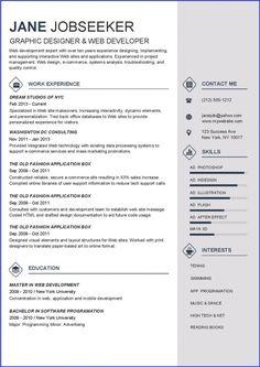Firefighter Resume Template Pdf Stripe Resume Template  Resume Downloads  Creative Resume Design  Project Engineer Resume Excel with Online Resume Maker Word Bermuda Resume Template  Resume Downloads Power Resume Words Excel